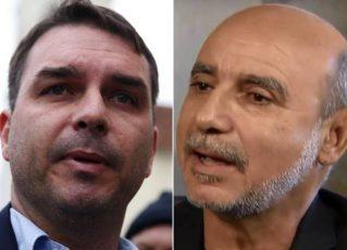 Flávio Bolsonaro e Fabrício Queiroz. Foto: Reprodução de Internet