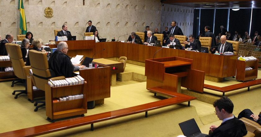 Plenário do Supremo Tribunal Federal (STF). Foto: Nelson Jr./SCO/STF