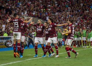 Flamengo. Foto: Alexandre Vidal, Marcelo Cortes e Paula Reis / Flamengo