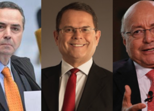 Luis Roberto Barroso, Sidney Rezende e Maílson da Nóbrega. Fotos: Agência Brasil/Leonardo Vilela/Divulgação