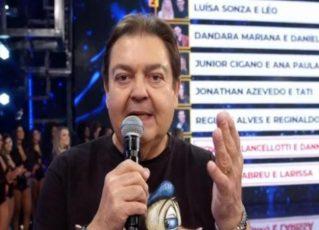 Fausto Silva. Foto: Reprodução de TV