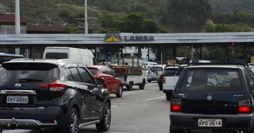 Linha Amarela, via administrada pela empresa Lamsa desde 1997. Foto: Fernando Frazão/Agência Brasil
