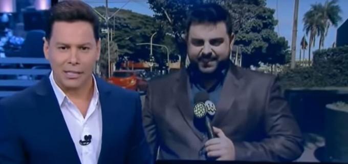 Marcão do Povo (à esq.) e Felipe Macedo (à dir.). Foto: Reprodução de TV