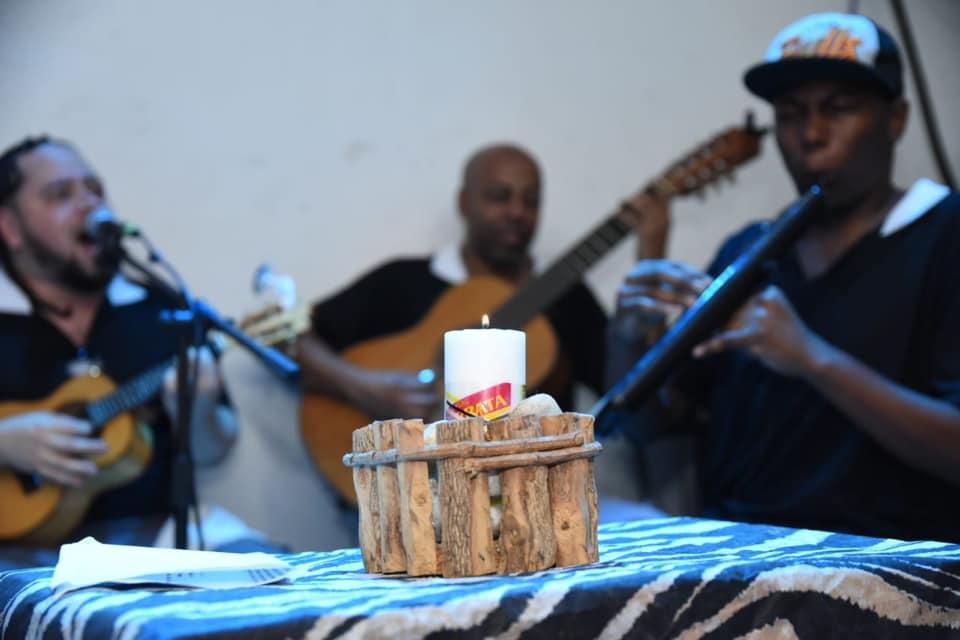 Celebração do Dia Nacional do Samba na Uesp. Foto: Divulgação/Uesp