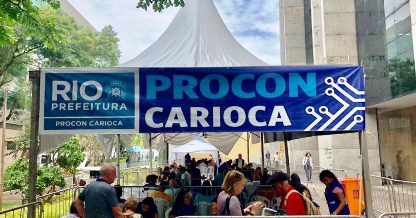 Mutirão de conciliação do Procon Carioca termina com 819 atendimentos. Foto: Procon Carioca