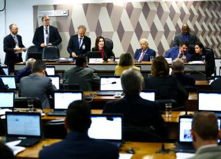 CCJ no Senado. Foto: Marcelo Camargo/Agência Brasil