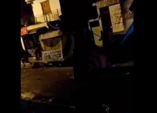 Policiais reprimem jovens em saída de baile funk em Paraisópolis. Foto: Reprodução