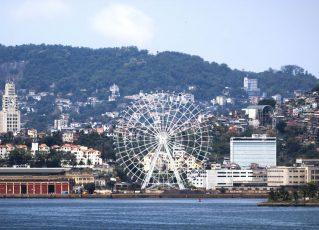 Rio inaugura maior roda-gigante da América Latina. Foto: Divulgação
