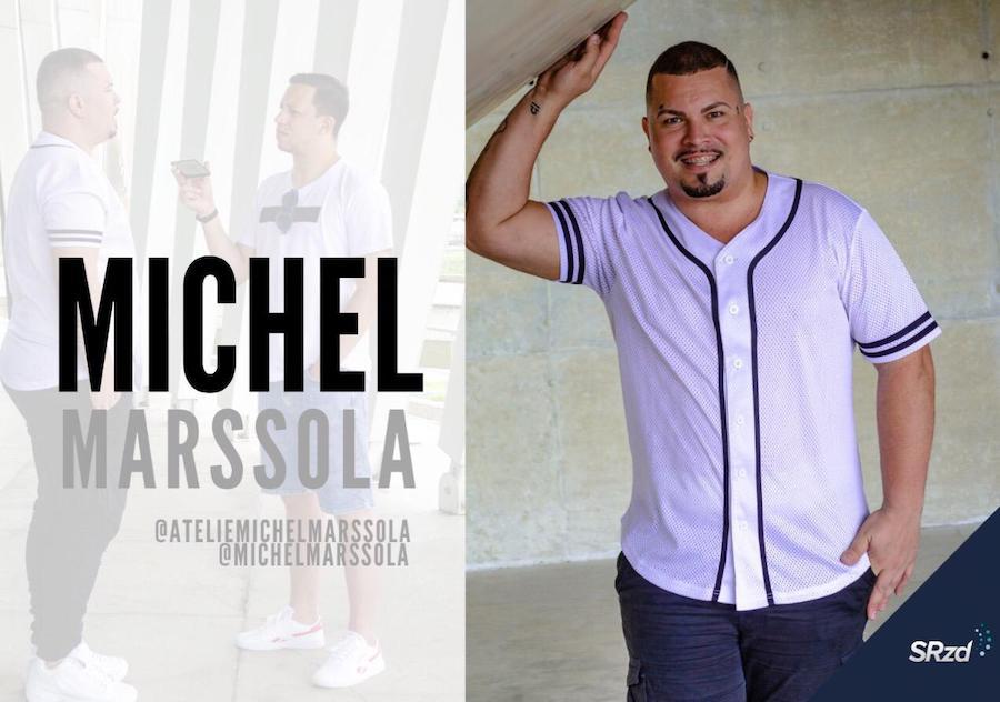 Michel Marssola. Foto: Max Beltrão