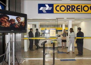 Agência dos Correios. Foto: Elza Fiúza/Agência Brasil