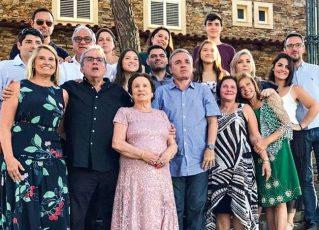 Família de Gugu Liberato. Foto: Reprodução/Instagram