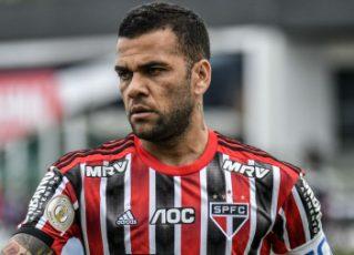 Daniel Alves. Foto: Reprodução