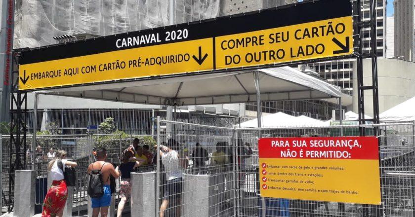 Metrô no Rio. Foto: Divulgação