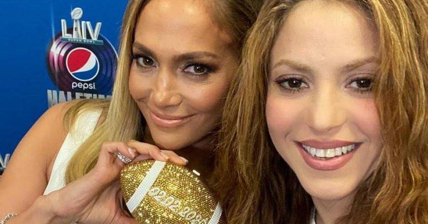 Jennifer Lopez e Shakira. Foto: Instagram