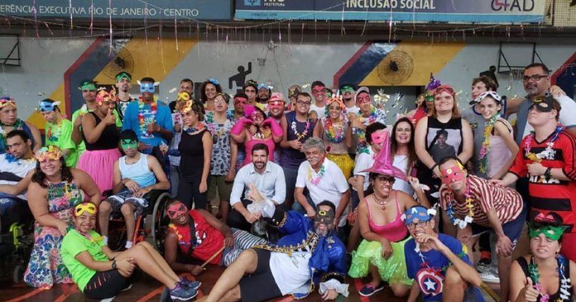 Baile de Carnaval da CIAD Mestre Candeia em 2019. Foto:Assessoria de Comunicação Subsecretaria de Esporte e Lazer da Prefeitura do Rio.