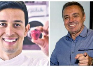 Thiago Salvatico e Gugu Liberato. Foto: Reprodução de Internet