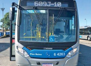 Ônibus para o aeroporto de Congonhas ganha espaço para malas. Foto: Divulgação
