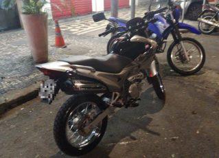 Motos apreendidas pela Polícia. Foto: PM/Divulgação