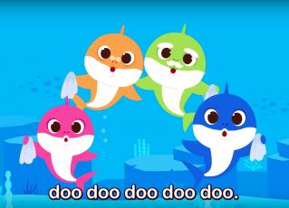 """""""Baby shark"""" ganha versão contra coronavírus. Foto: Reprodução/Youtube"""