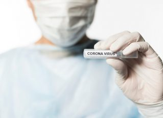 Teste para Coronavírus. Foto: Reprodução