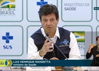 Ministro da Saúde, Luiz Henrique Mandetta. Foto: Reprodução de Internet