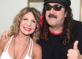 Elba Ramalho e Moraes Moreira. Foto: Reprodução/Facebook