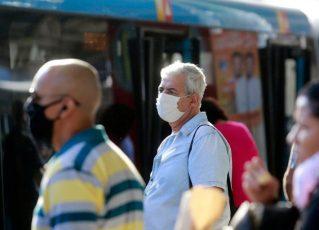 Uso de máscaras passa a ser obrigatório na cidade do Rio. Foto: PMRJ