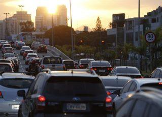 Trânsito em São Paulo. Foto: Reprodução