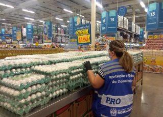 Procon RJ atua em supermercados. Foto: Divulgação