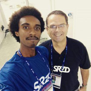Nícolas Barbosa e Sidney Rezende. Foto: Acervo Pessoal