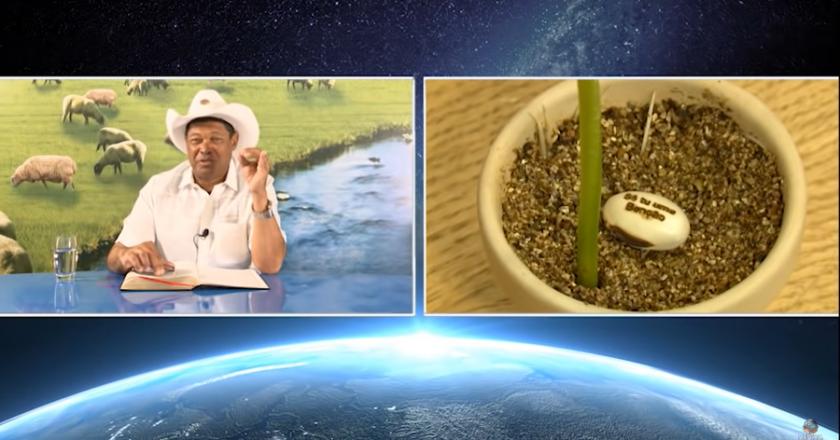 Pastor Valdemiro Santiago vende semente a R$ 1 mil. Foto: Reprodução/Youtube