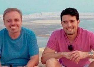 Gugu Liberato e Thiago Salvático. Foto: Reprodução