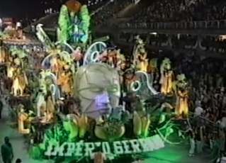 Desfile Império Serrano 2004. Foto: Reprodução