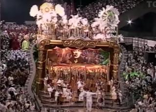 Desfile da Mocidade Independente de Padre Miguel - 1999. Foto: Reprodução