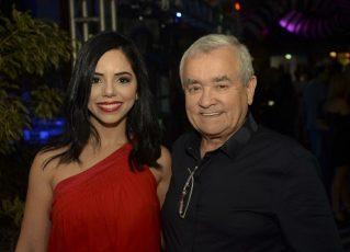 Monique Elias e Itamar Serpa Fernandes. Foto: Reprodução de Internet