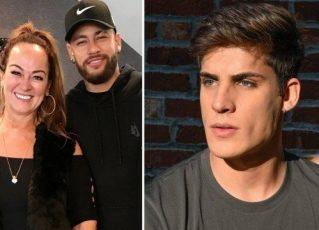 Nadine, Neymar e Tiago. Fotos: Reprodução