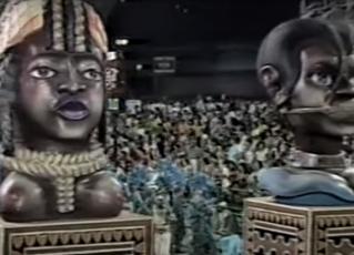 Desfile da Vila Isabel 1988. Foto: Reprodução