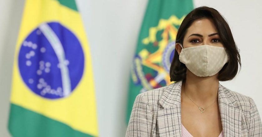 Michelle Bolsonaro. Foto: Marcos Corrêa/PR