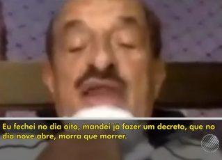 Prefeito de Itabuna, Fernando Gomes. Foto: Reprodução/TV Bahia