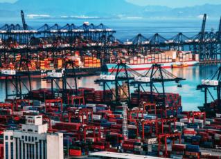 Porto de Shenzhen. Foto: Reprodução