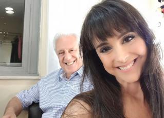 Antônio Fagundes e Alexandra Martins. Foto: Reprodução/Instagram