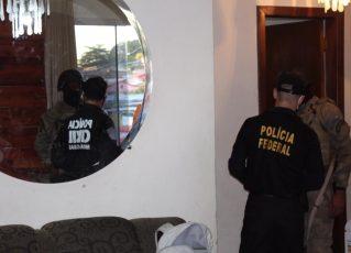 """Operação """"Caixa Forte"""" cumpre mais de 600 mandados em operação contra facção criminosa. Foto: Divulgação/Polícia Civil de Minas Gerais"""