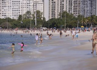 Praia no Rio de Janeiro. Foto: Tomaz Silva/Agência Brasil