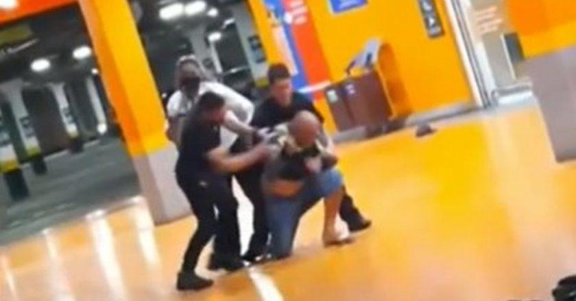 Homem negro é espancado até a morte por seguranças no Carrefour. Foto: Reprodução