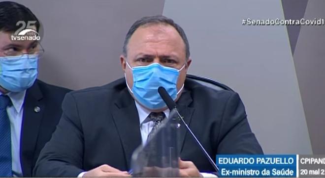 Eduardo Pazuello. Foto: Reprodução de Internet