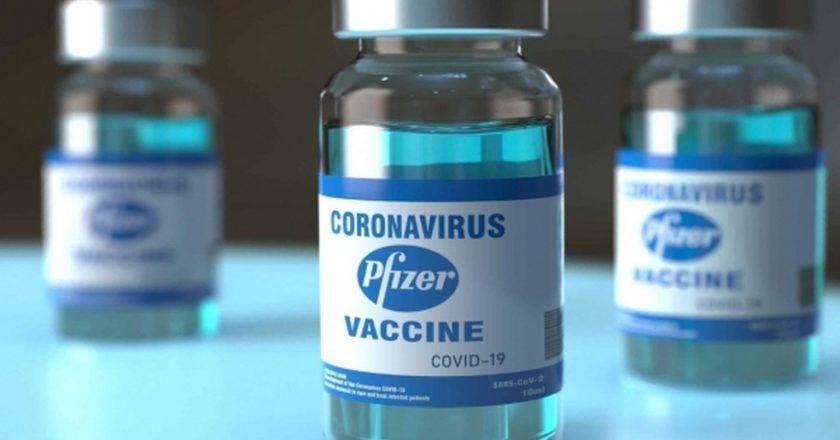 Vacina da Pfizer. Foto: Divulgação/Ascom Sesau/Carla Cleto