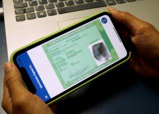 'Identidade Digital RJ. Foto: Divulgação/Detran-RJ