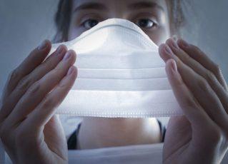 Uso de máscara para proteção contra a Covid-19. Foto: Divulgação/Governo de Santa Catarina